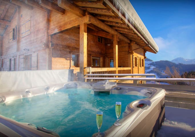 5* Enjoy views from hot tub, or just relax in the steam room - OVO Network