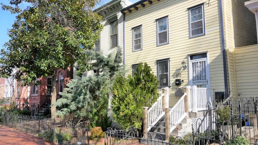 Newly Renovated Cap Hill Historic Home: 3 Bed/Bath
