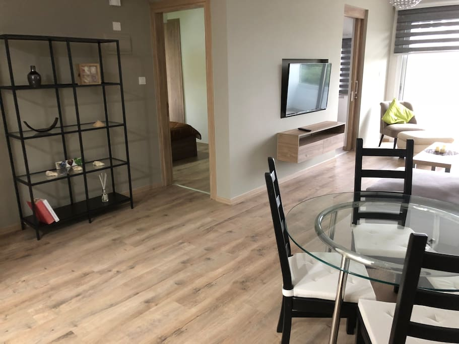 Space is nice, Open Plan Dining and Living area