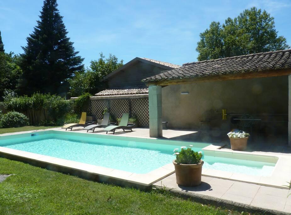 et son pool house