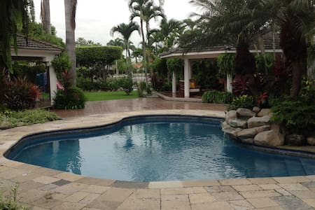 Suite, tropical garden, lake & pool - Guayaquil - Dom