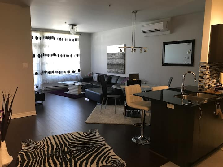 LAVAL NEW CONDO FULLY FURNISHED LUXURIOUS PARKING