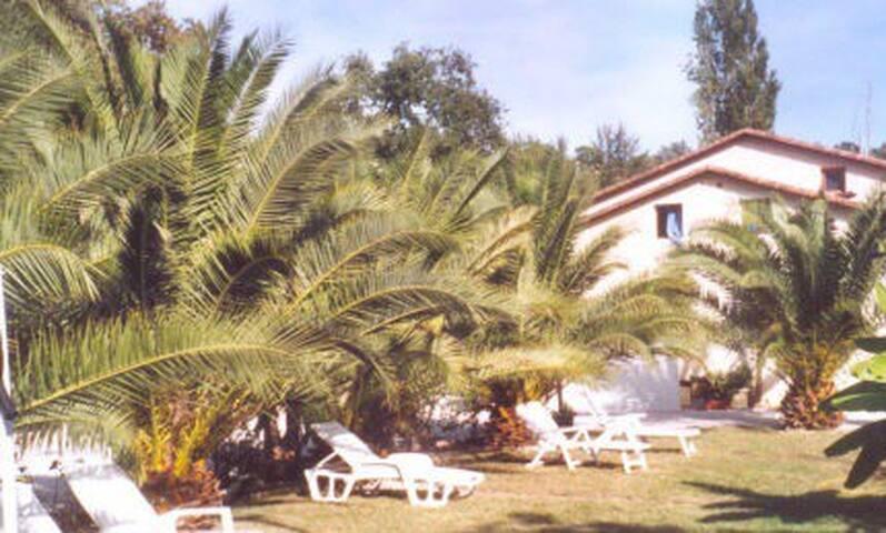 Jardin commun de la propriété