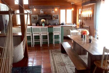 Stunning Cabin 1 Hour to Asheville! - Bakersville - Casa