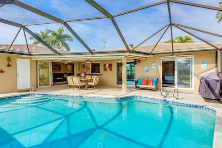 Pool, Hot Tub & White Sandy Beach - Cape Coral - Casa