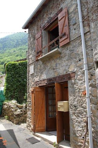 Le Parédal : Maison calme,  vieux village d'Auzat