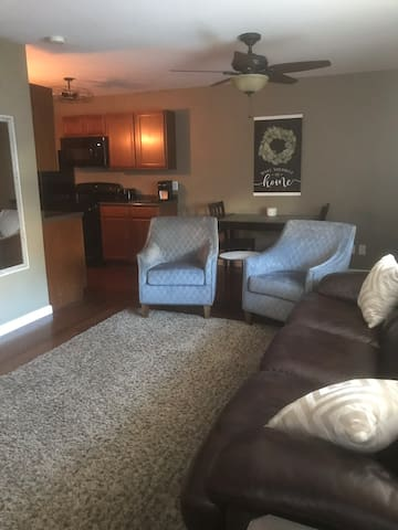 Game Day Condo in walking distance to campus