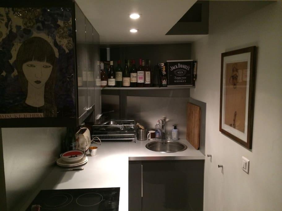 La cuisine (kitchenette)