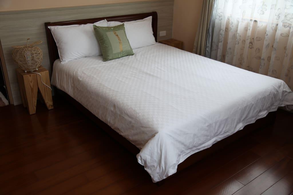舒適的床鋪