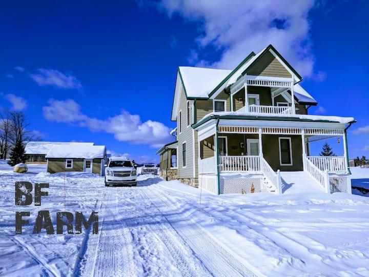 Boyne Mt. Area  Old Farm House