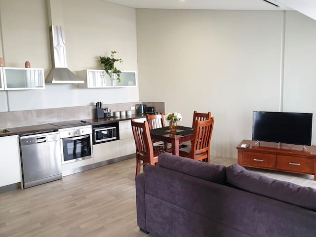 B2: Spacious 1 Bedroom & Sofabed Apartment & WIFI
