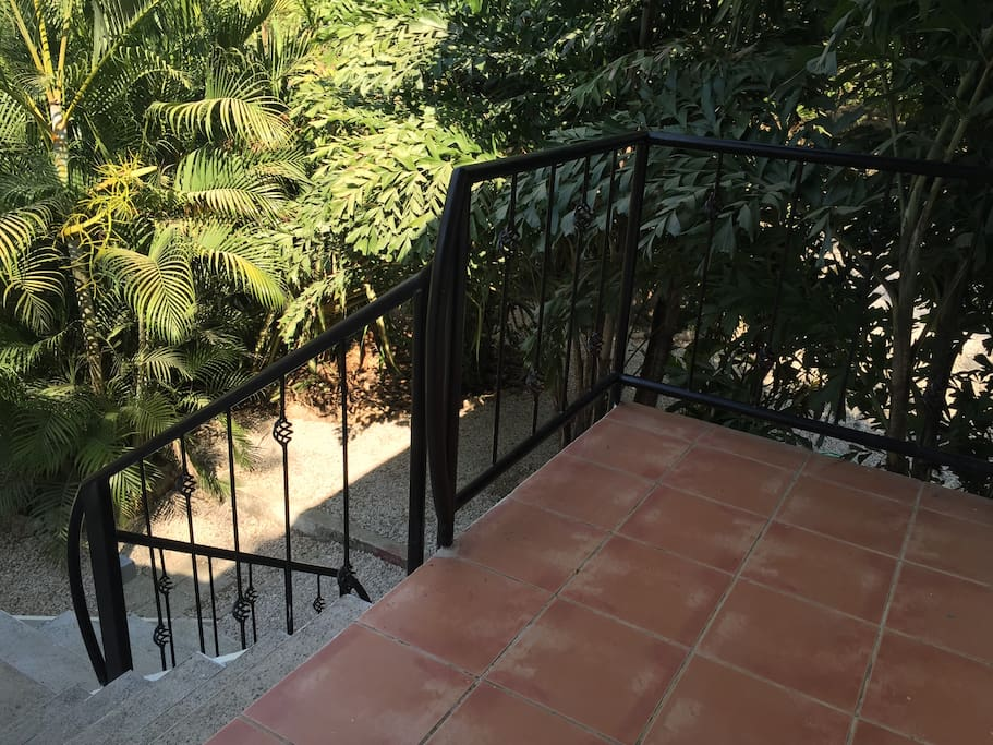 upstairs front patio