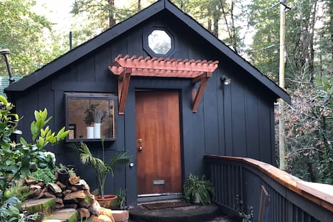 The Guest Cottage in the Redwoods