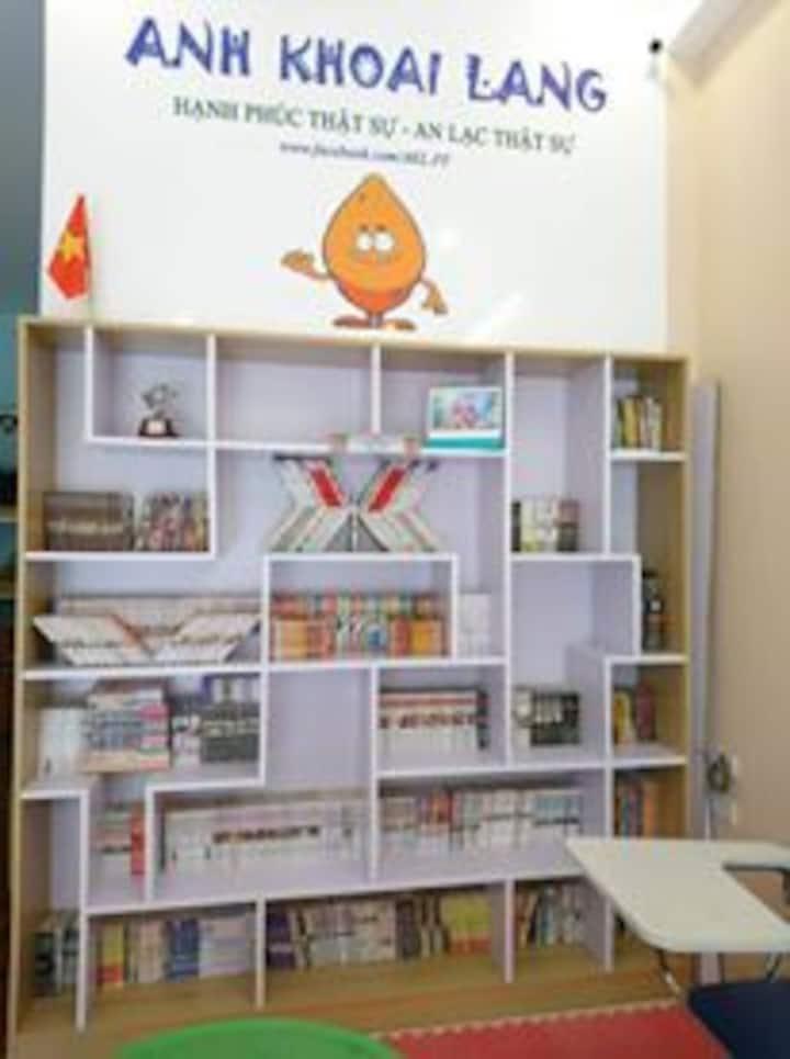 Anh Khoai Lang free library