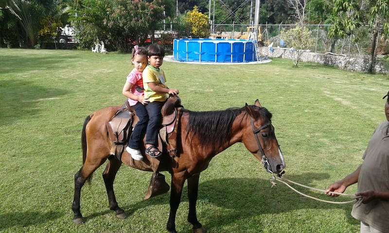 Rancho Shadai. Finca para disfrutar - Villa Altagracia