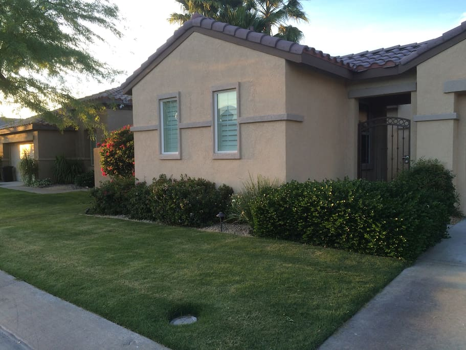 This could be your temporary home in the Coachella Valley! Nice, safe neighborhood.