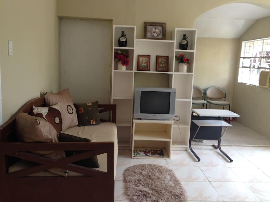 Furnished Living , dining and Office/entertainment  rooms
