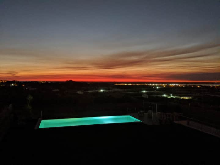 Apartamento con piscina y vistas al PN de Doñana