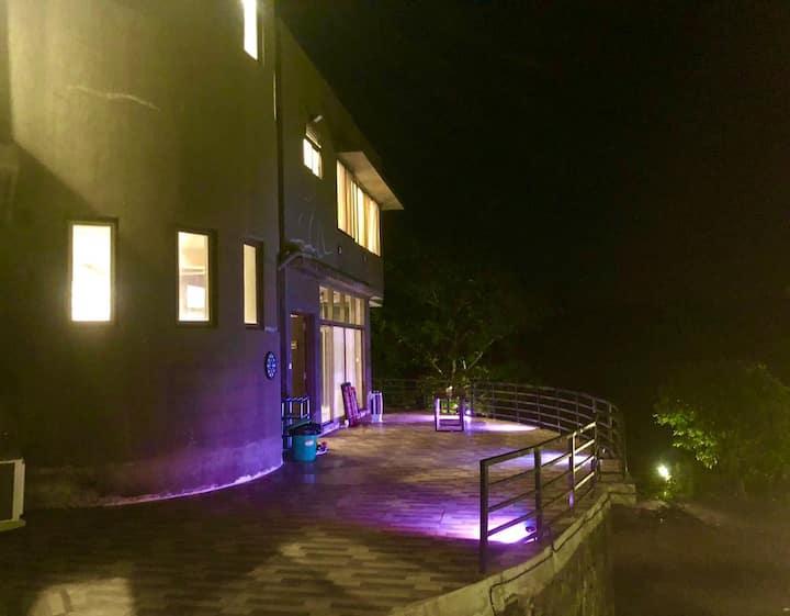 Villa Santorini Karjat  #4Bed #River #sports #Bbq