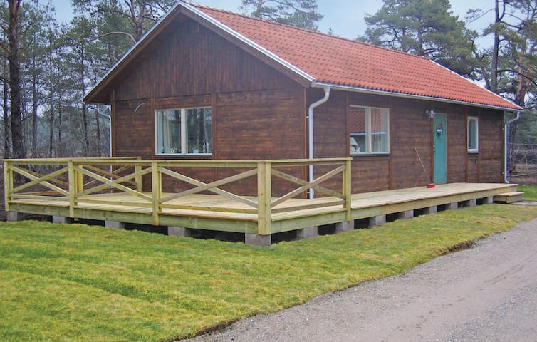Holiday cottage with 2 bedrooms on 77 m² in Stånga