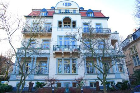 Traumhafte Wohnung direkt am Park - Bad Nauheim - Daire