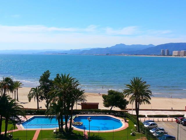 Preciosa vista bahía con piscina - Cullera - Wohnung