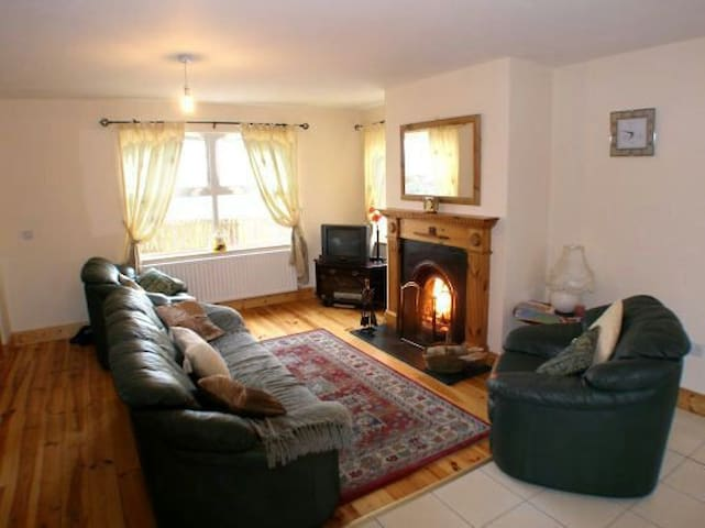Stunning views, spacious donegal home. Sleeps 7.