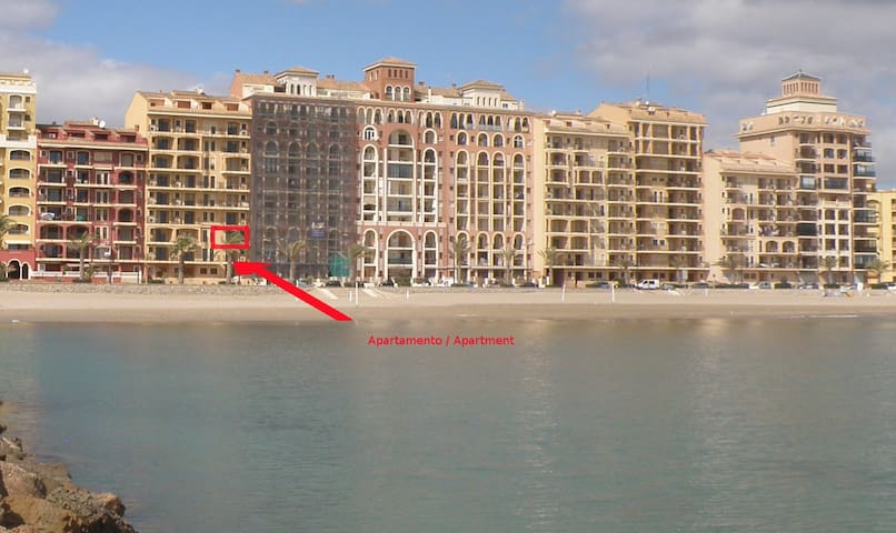 Apartamento primerisima linea