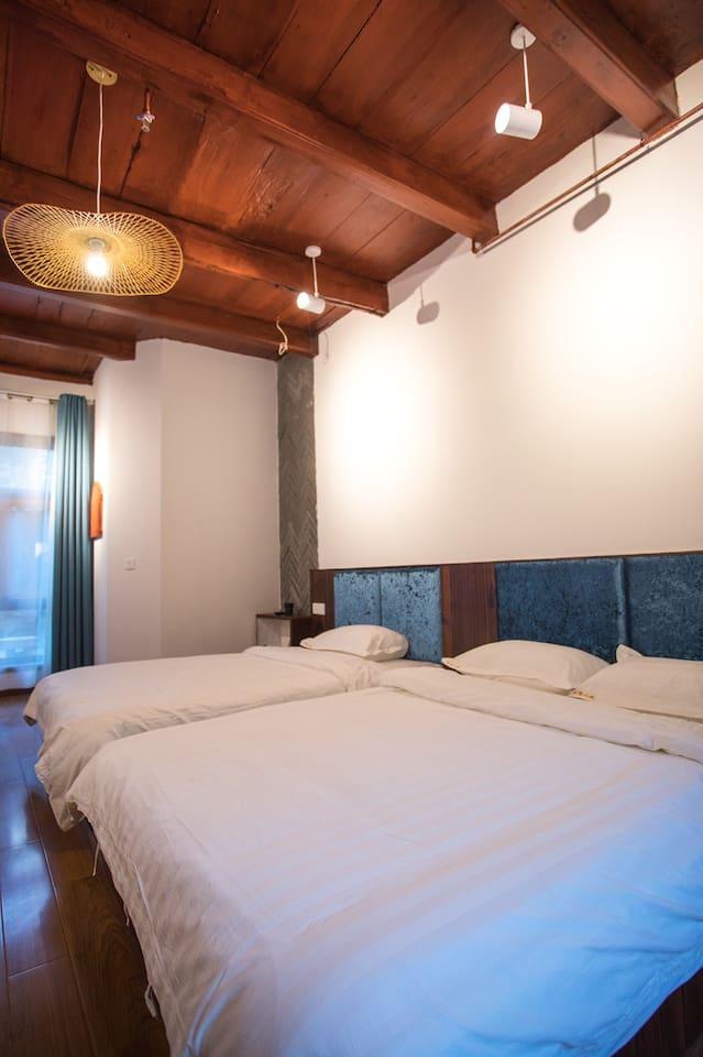 乌镇木馨豪华家庭房 客房房间设施齐全,24小时热水,WiFi全覆盖