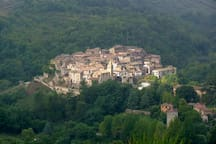 The village; Bocchignano, living history, the gemstone in the crown of the Sabine hills.