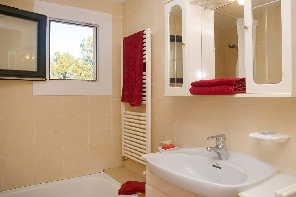 Top floor bathroom (shower/bath with toilet and bidet)