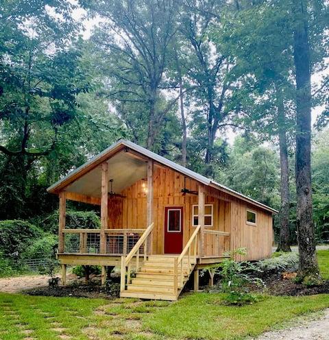Cabin on Lake Naconiche - The Shack