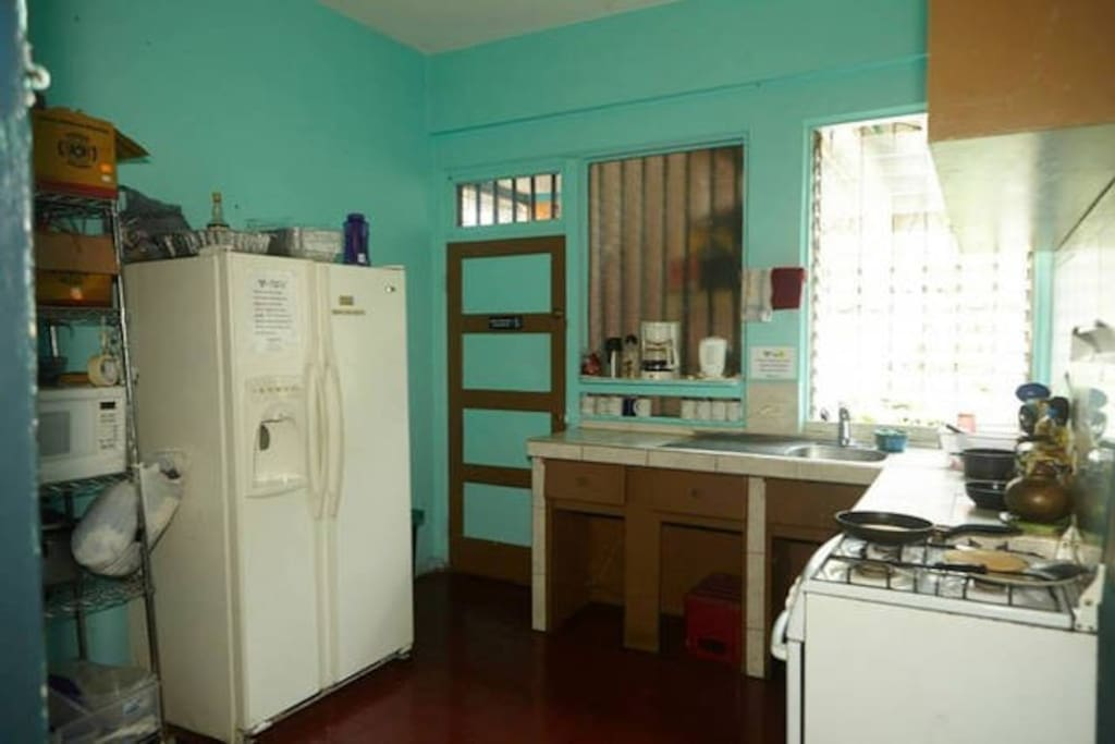 Our fully-equipped kitchen.