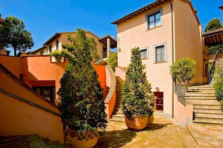 Week holiday in Tuscany - Celle Sul Rigo - Hus