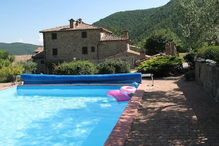 Stella spendid flat x 4 with pool in a farmhouse - Mercatale