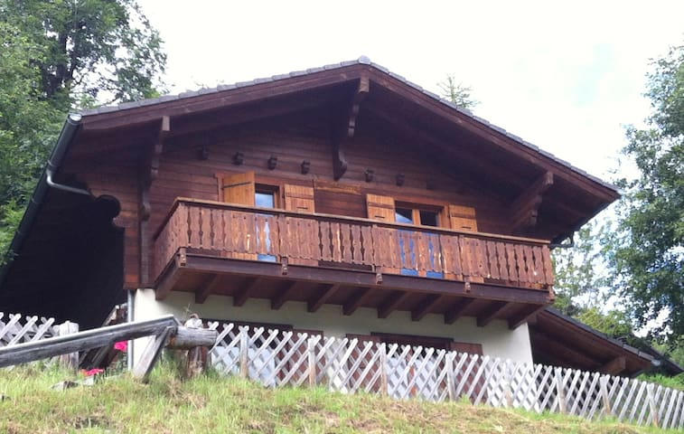 Swiss chalet with a beautiful view  - Hérémence - Chalet