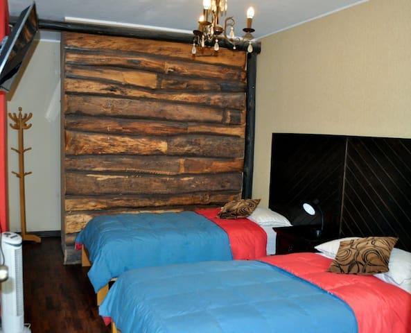 Hermosa Habitacion Doble en Cañete Hacienda Hotel
