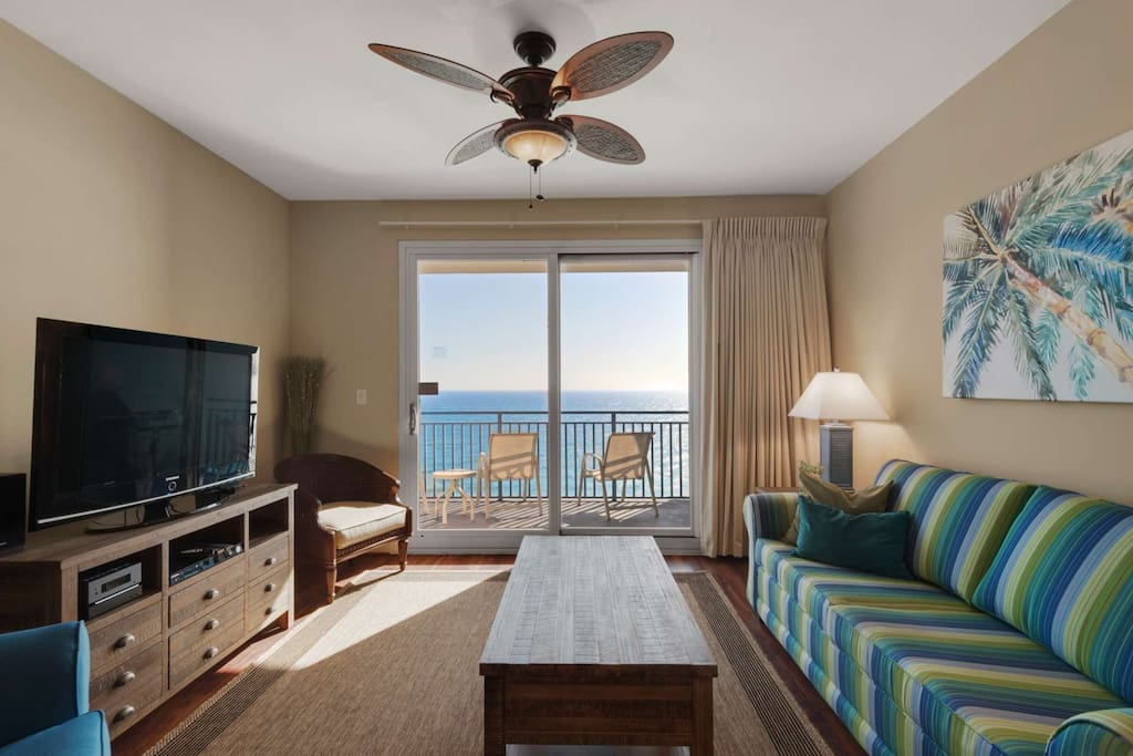 Beautiful Gulf View form the Living Room!