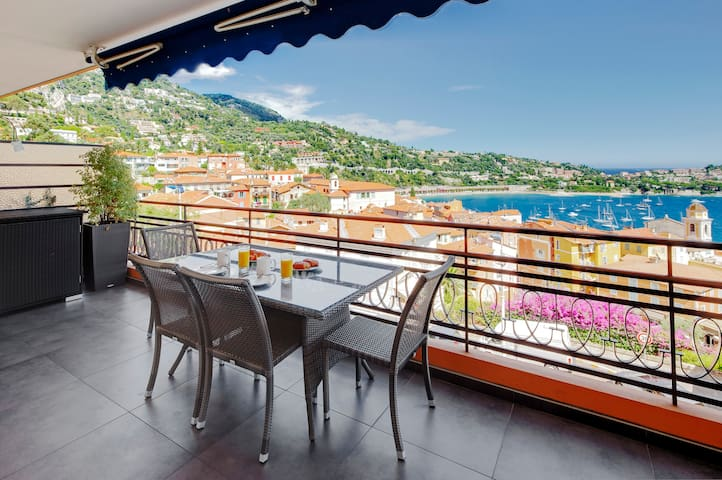 DOLCE VITA -  Amazing Sea View from huge balcony!! - Villefranche-sur-Mer - Apartemen