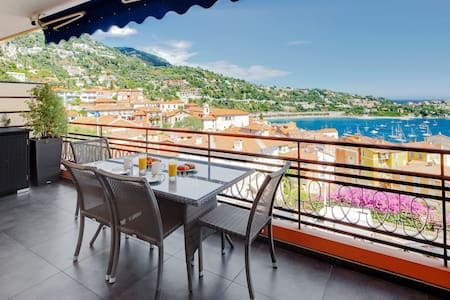 DOLCE VITA -  Amazing Sea View from huge balcony!! - Villefranche-sur-Mer