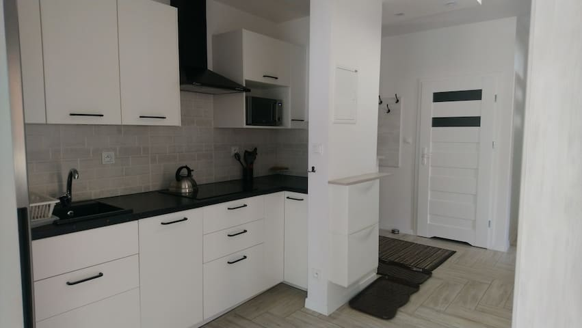 Pokój w nowym apartamencie -centrum Wrzeszcza
