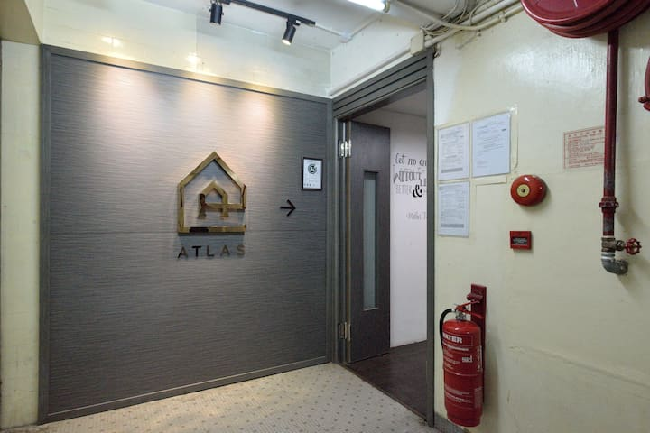 Welcome to Atlas Hostel, located on the 7th floor of the Comfort Building on Nathan Road