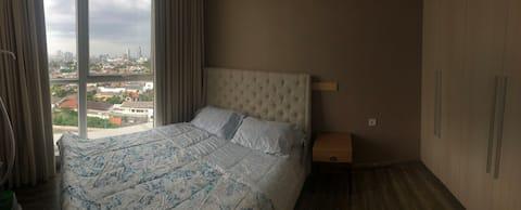senayan cozy room CBD Jakarta Feng Shui good