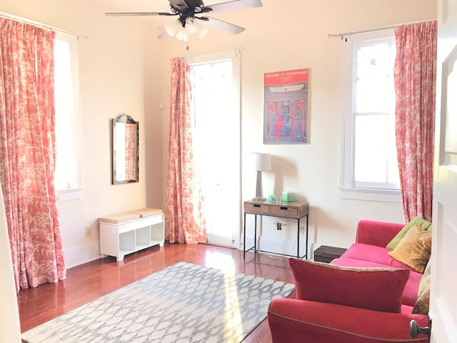 Oak St. Rebirth-Spacious 2BR w/ Balcony, Free Yoga