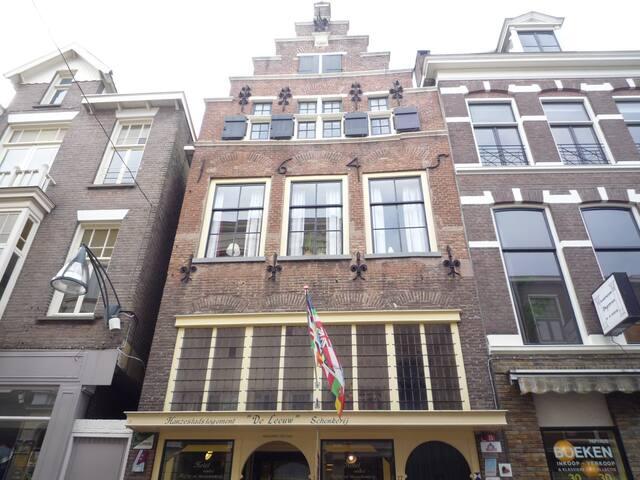 Rijksmonument bovenwoning 5 pers. - Deventer - Huis