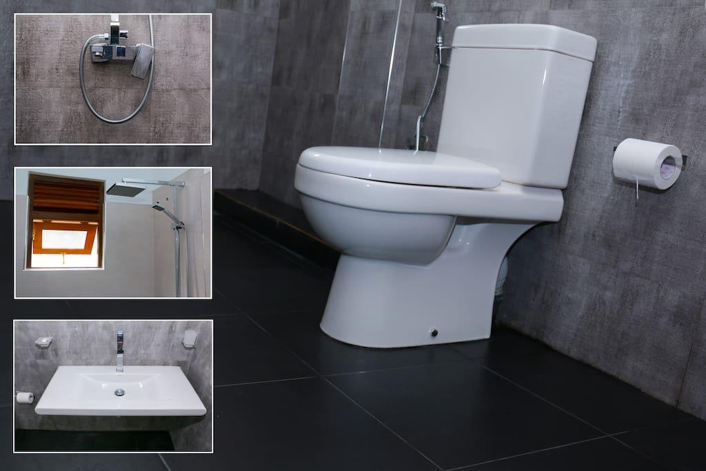 Bathroom and Toilets