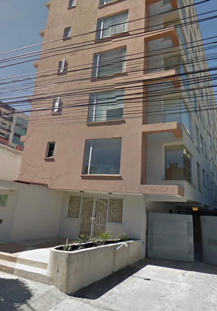Apartamento comodo y seguro en Quito
