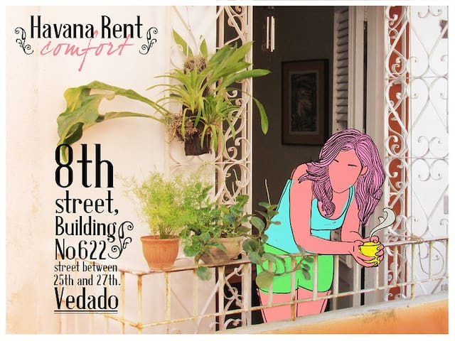 Rent Havana,Independent apartment