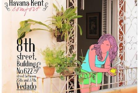 Rent Havana,Independent apartment  - Lakás