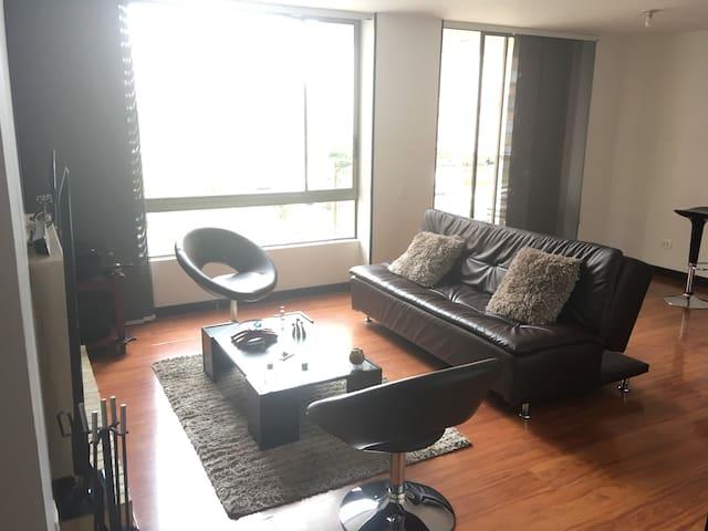 Hermoso apartamento en el norte de bogota